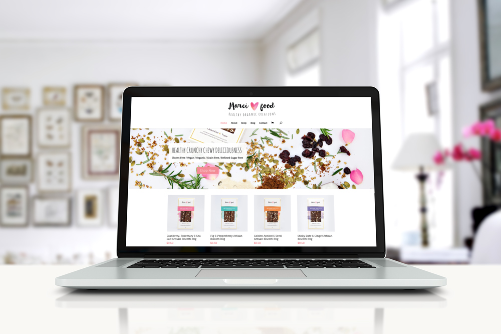 Marci Food eCommerce Website