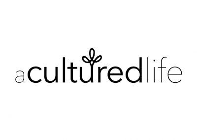A Cultured Life Logo Design